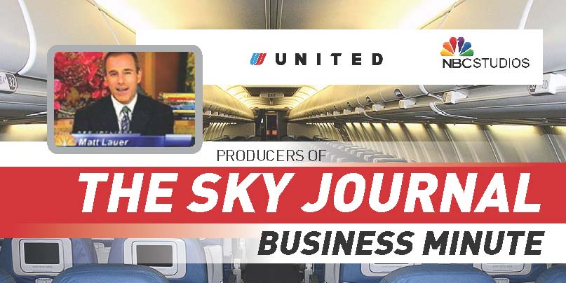 "Aired worldwide during United Airlines NBC ""Today Show"" in-flight television programming and during American Airlines ""Eye on American"" programming."
